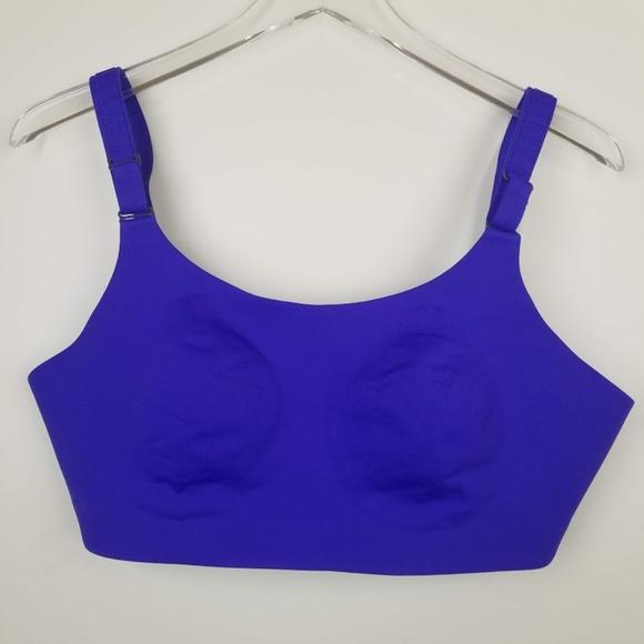 87335a3d7b1 lululemon athletica Other - Lululemon Booby Bracer Purple Sports Bra